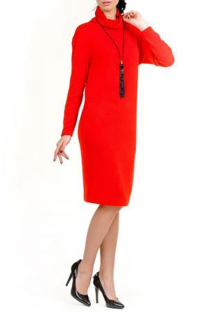 Платье Бирюза LESYA. Цвет: красный