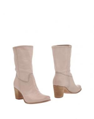 Полусапоги и высокие ботинки PROGETTO GLAM. Цвет: голубиный серый