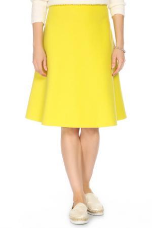 Юбка Max Mara. Цвет: желтый