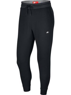 Брюки M NSW MODERN JGGR LT WT Nike. Цвет: черный, белый