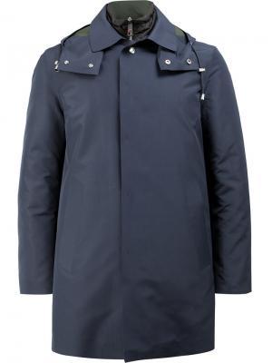 Куртка с капюшоном Kired. Цвет: синий