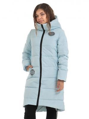 Пальто TOPKLAER. Цвет: голубой