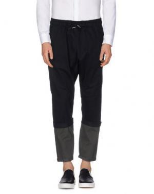 Повседневные брюки C.Y.H. CLAP YOUR HAND. Цвет: черный