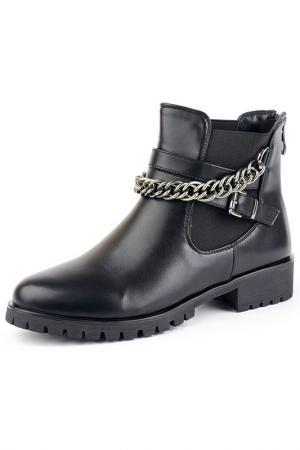 Ботинки Norka. Цвет: черный