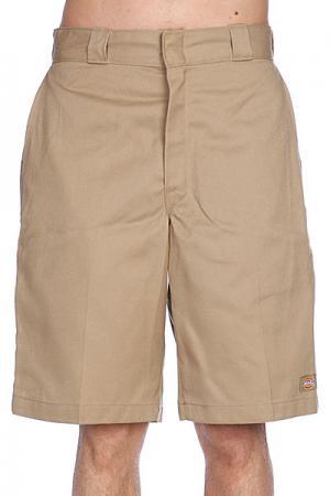 Классические мужские шорты  11 Twl Wk Short Khaki Dickies. Цвет: бежевый