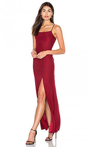 Вечернее платье christy STONE_COLD_FOX. Цвет: красный