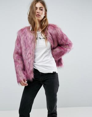 Unreal Fur Куртка Dream. Цвет: розовый
