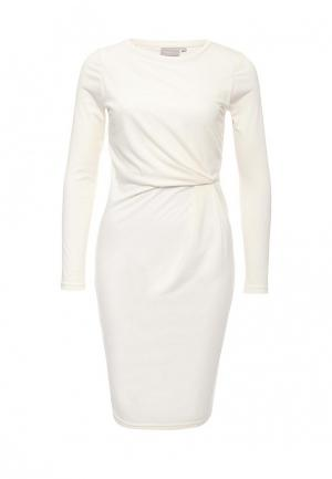 Платье InWear. Цвет: белый