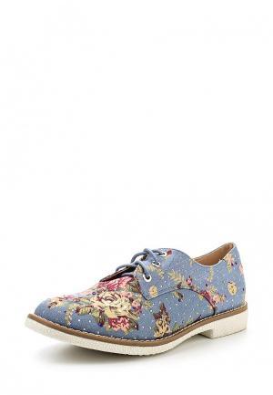 Ботинки Ideal Shoes. Цвет: синий