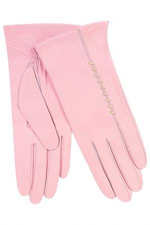 Перчатки Michel Katana. Цвет: нежно-розовый