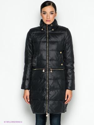 Пальто INCITY. Цвет: черный