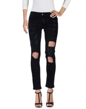 Джинсовые брюки ANIYE BY. Цвет: черный