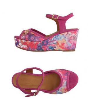 Сандалии FIORINA. Цвет: розовато-лиловый