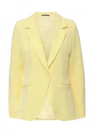 Пиджак Aurora Firenze. Цвет: желтый