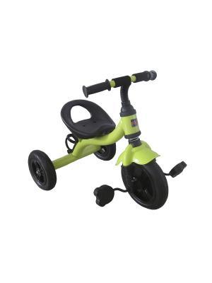 Велосипед детский, 3х-колесный с надувными колесами, светло-зеленый (MT-BCL0815008) Pit Stop. Цвет: светло-зеленый