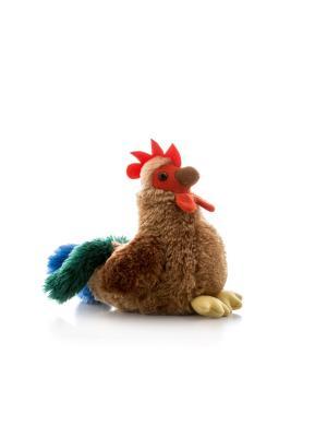 Игрушка мягкая Петушок пёстрый 15 см AURORA. Цвет: коричневый