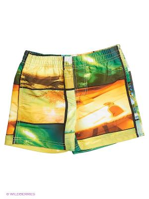 Шорты для купания Modis. Цвет: белый, зеленый, серый, фиолетовый, красный, розовый, желтый