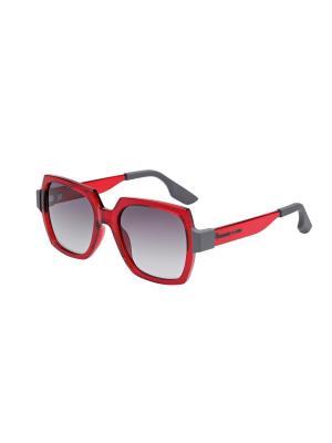Солнцезащитные очки McQueen. Цвет: красный
