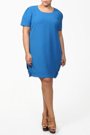 Платье QNEEL Q'NEEL. Цвет: голубой
