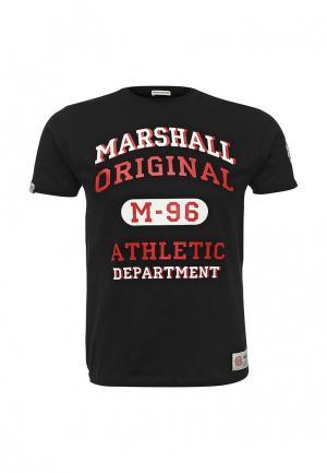 Футболка Marshall Original. Цвет: черный