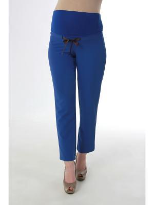 Трикотажные брюки Balloon-Москва. Цвет: синий