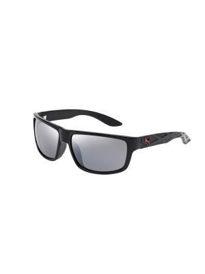 Солнцезащитные очки Puma. Цвет: черный, коричневый