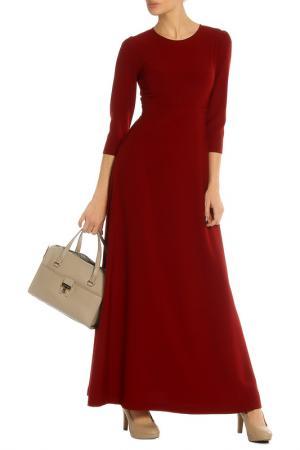 Платье BGN. Цвет: wine