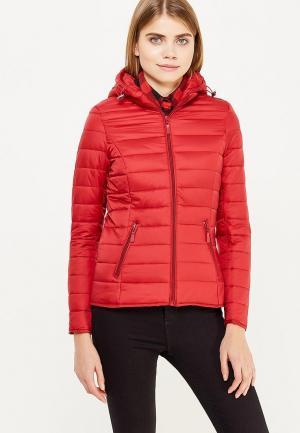 Куртка утепленная Adrixx. Цвет: красный