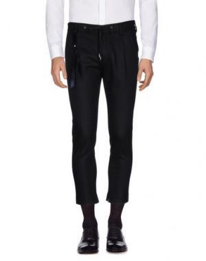 Повседневные брюки FUTURO. Цвет: черный