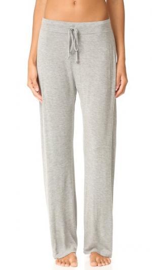 Пижамные брюки Skin. Цвет: серый меланж