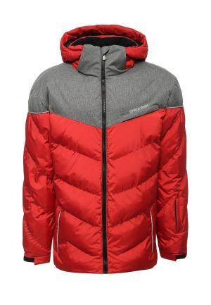 Куртка утепленная Modis. Цвет: красный