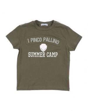 Футболка I PINCO PALLINO I&S CAVALLERI. Цвет: зеленый-милитари