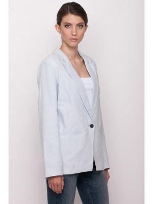 Пиджак Baon. Цвет: голубой