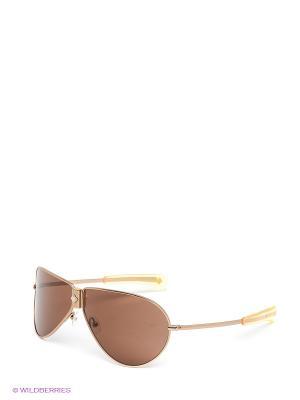 Солнцезащитные очки IS 11-04202 Enni Marco. Цвет: золотистый