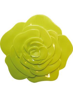 Подставка/РОЗОВЫЙ БУТОН/зеленый Zak!designs. Цвет: зеленый