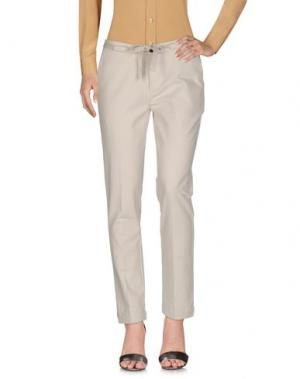 Повседневные брюки SWILDENS. Цвет: слоновая кость