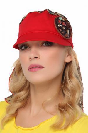 Бандана Lak Miss. Цвет: красный, бежевый