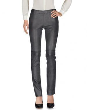 Повседневные брюки STOULS. Цвет: свинцово-серый