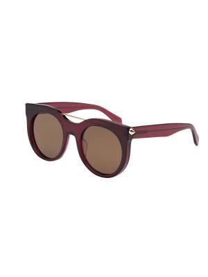 Солнцезащитные очки Alexander McQueen. Цвет: красный