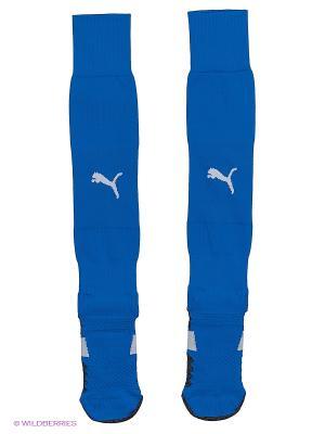 Гетры  Match Socks Puma. Цвет: голубой