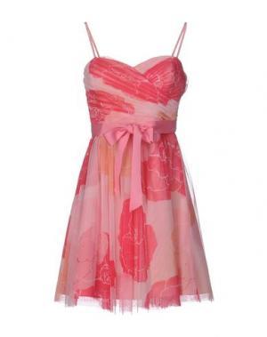 Короткое платье MANOUKIAN. Цвет: розовый