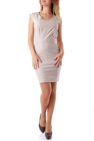 Платье Cristina Gavioli. Цвет: light grey