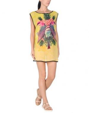 Пляжное платье WE ARE HANDSOME. Цвет: желтый
