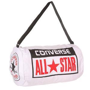 Сумка спортивная  Legacy Duffel White Converse. Цвет: белый