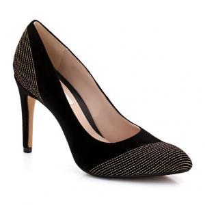 Туфли на каблуке  ALWAYS BRIGHT CLARKS. Цвет: черный/ золотистый