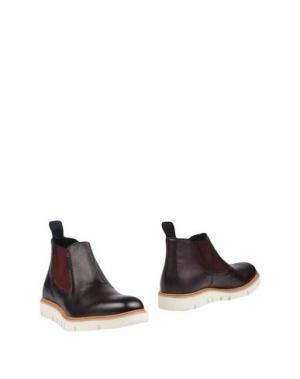 Полусапоги и высокие ботинки PIERRE DARRÉ. Цвет: баклажанный