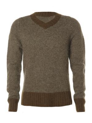 Пуловер Kangra. Цвет: серый, коричневый