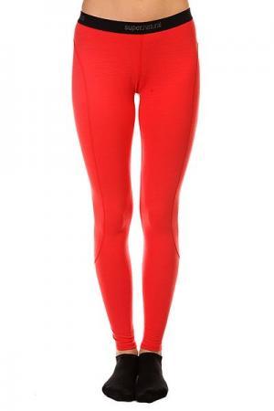 Термобелье (низ) женский  Base Tight 175 Red Super Natural. Цвет: красный