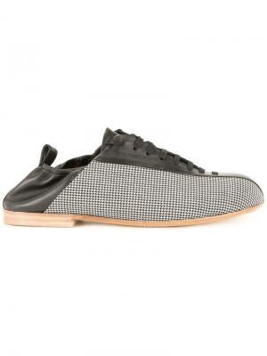 Кроссовки с панельным дизайном Wooyoungmi. Цвет: чёрный