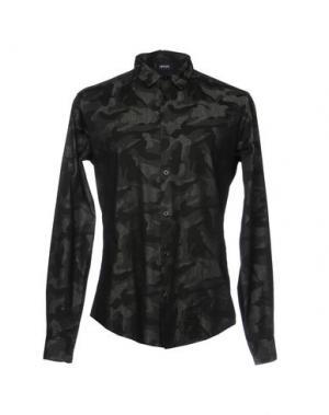 Джинсовая рубашка ARMANI JEANS. Цвет: черный